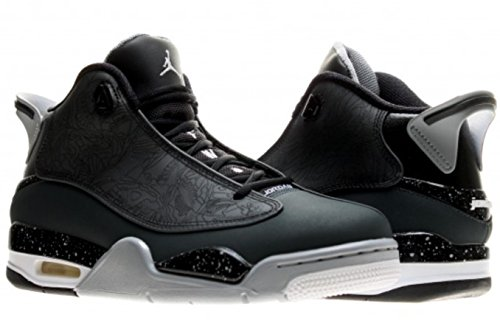 Homme Chaussures Noir blanc Noir Flight EU Gris Basketball Gris 5 Loup Jordan 44 4 de Nike Noir 1 Noir 6Hqw0I