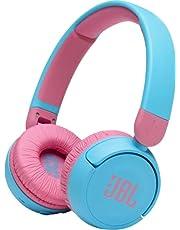 JBL JBLJR310BTBLU Kids Wireless On-Ear Headphones, Blue
