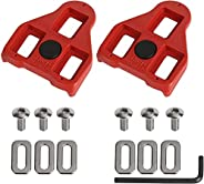 Bike Cleats Compatible with Look Delta (9 Degree Float) and Peloton,Bike Replacement Cleats - Indoor Cycling &