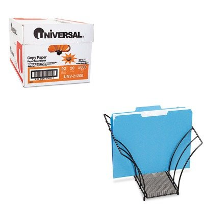 KITROL1742326UNV21200 - Value Kit - Rolodex Butterfly File Sorter (ROL1742326) and Universal Copy Paper (UNV21200)
