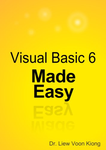 Visual Basic 6 Made Easy Book