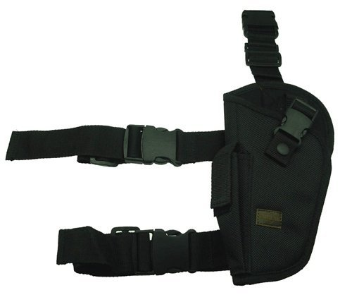 Elite Tactical Leg Holster (Left Black)