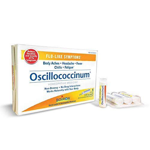 Boiron Oscillococcinum 0.04 Ounce 6 Doses Homeopathic Medicine for Flu-like Symptoms
