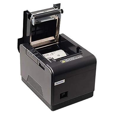 USB+Lan JEPOD Receipt Printer 80mm Thermal Receipt Printer USB+LAN Pos Bill Thermal Printer Thermal Pos Printer XP-Q200