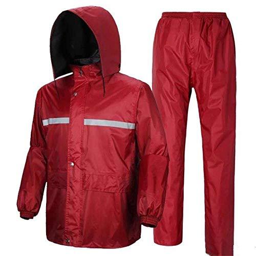 Raincoat Et Respirant Guyuan Rain R Maille Pants Set Femmes Double Hommes aPwHqw1dx