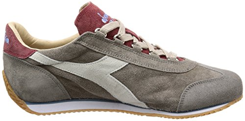 Equipe 75013 para Mujer Hombre Guijarro Sneakers Diadora y Gris 12 Wash Heritage Stone TEqBWpwSx