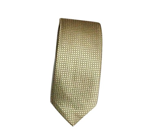 Sparkly UK L made party Mens event amp;L® wedding Champagne checks plain prom tie Hand necktie Oqq1W7