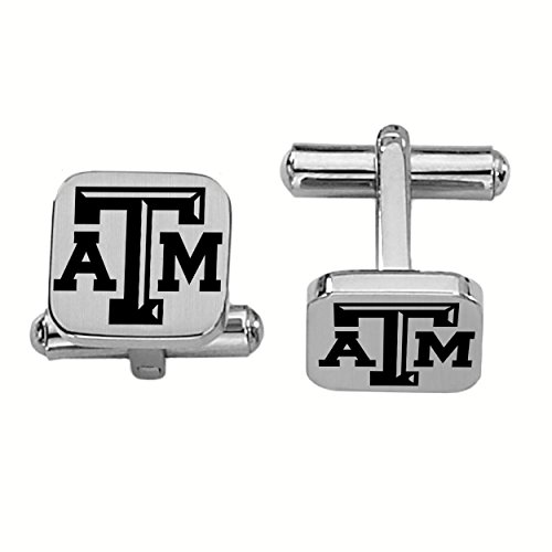 - College Jewelry Texas A&M Aggies Stainless Steel Square Cufflinks