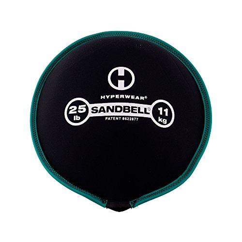 Hyperwear SandBell Sandbag Training Free Weight (Pre filled) (25)
