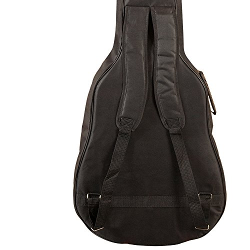 Review ChromaCast Acoustic Guitar 6-Pocket Padded Gig Bag with Guitar Strap and Pick Sampler