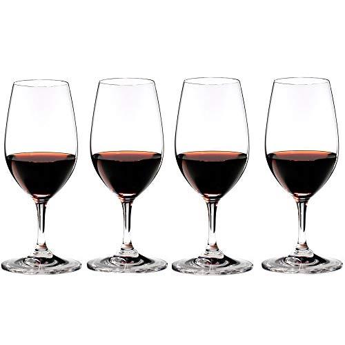 Riedel Bar Vinum Leaded Crystal Port Wine Glass, Set of 4