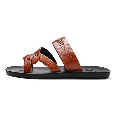 Estate Uomini Personalità Forte Drag Outdoor Derrick Pantofole Scarpetta Scivoloso Unico Spiagge Bianche Sandali Nuovo Stile @Sandals