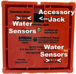 Sphinx Wireless Water Leak Detector Alarm (216) - Expandable with Sphinx Accessories