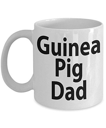 Guinea Pig Dad Mug - Funny Ceramic Mug For Coffee And Tea, 11oz and 15oz, Made In The USA