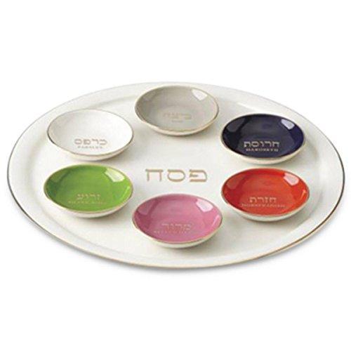 kate spade new york Oak Street 7-Piece Seder Plate & Bowl Set by Lenox