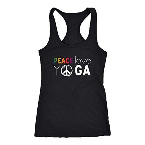 Yoga Racerback Tank Top T-Shirt. Funny Yoga Tank. Cool Shirt for Yoga (XS)