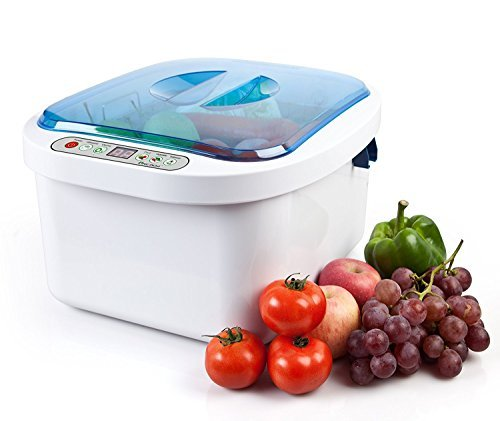 12.8L Home Use Ultrasonic Ozone Vegetable Fruit Sterilizer Cleaner Washer Health by Moredental