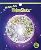 Dritz Iron-On Rhinestud Compact: Silver & Gold