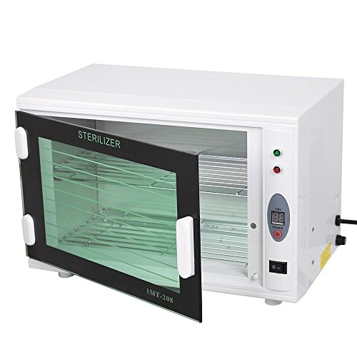 AW 8L UV Tool Sterilizer Cabinet with Timer Sterilization Manicure Nail Tool Facial Skin Beauty Salon Equipment