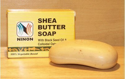 (Ninon Shea butter soap with black seed oil & Collodal oatmeal - 6)