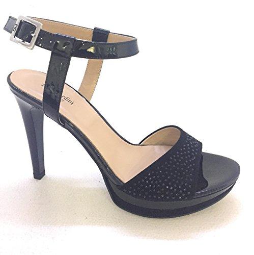 Nero Giardini Sandalo Donna Nero Misura 38 Art.p717870de/100