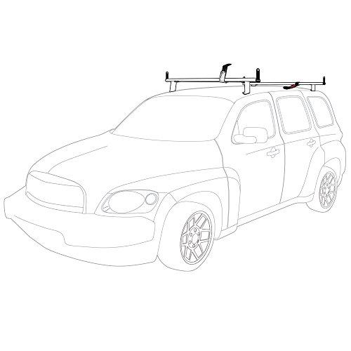 Hhr Roof - Vantech Chevy HHR 2 bar ladder roof rack with 50