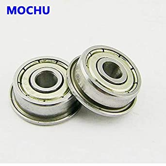 10PCS F623 F623ZZ Shielded FLANGED Ball Bearing Deep Groove Bearing  3*10*4mm