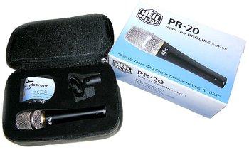 Series Dynamic Microphone - PR-20 PR20 Orginal Heil Sound PRO Series Large Diaphragm Dynamic Microphone