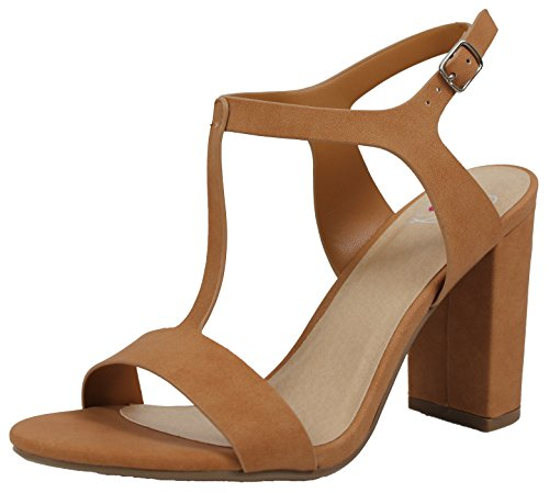Delicious Womens Strap Ankle Chunky