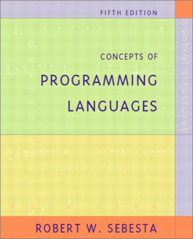 Concepts of Programming Languages (5th Edition)