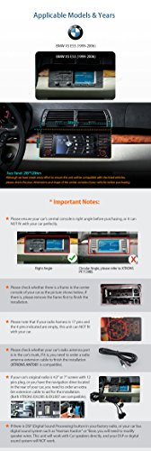 XTRONS 7 Inch HD Digital Touch Screen Car Stereo Radio In-Dash DVD Player with GPS CANbus Screen Mirroring Function for BMW E53 X5 Navigation Map Card & Reversing Camera Included by XTRONS (Image #2)
