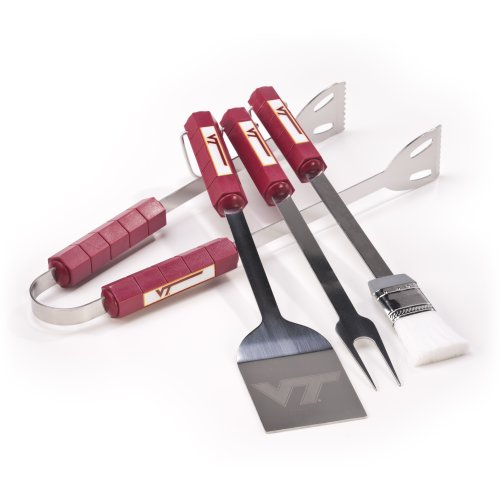 NCAA Virginia Tech Hokies 4 Piece Barbecue Set -