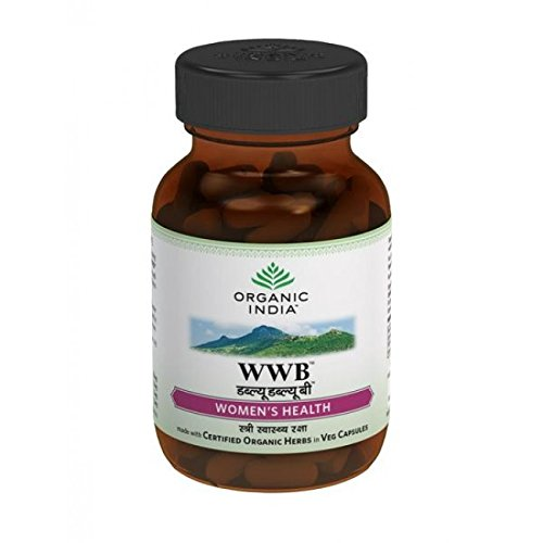 Organic India Women's Well Being (WWB) 60 Capsules by ORGANIC INDIA