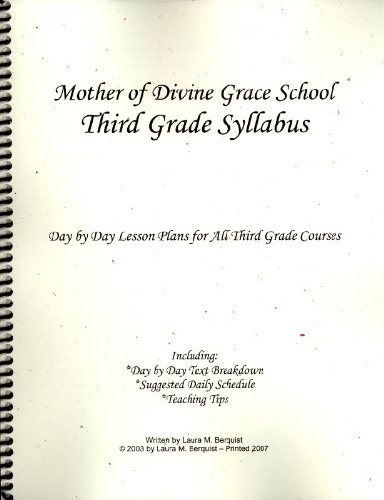 Math Worksheets 3rd grade free math worksheets : Mother of Divine Grace Third Grade Syllabus: Educators Publishing ...