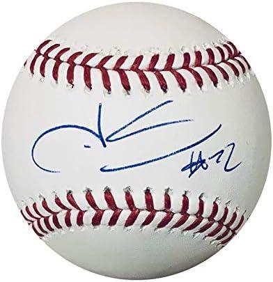 Juan Soto Washington Nationals Autographed Signed Official Major League Baseball Beckett COA