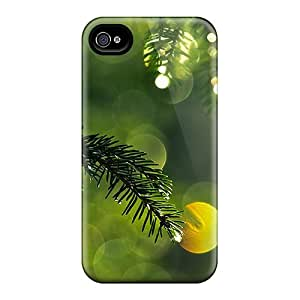 Perfect Fit XS-393-zmNPS Pine Needles Case For Iphone - 4/4s