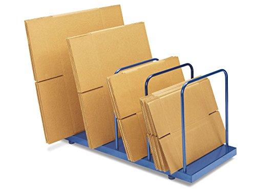 Steel Carton Stand - 42 x 18 x 23''- ULINE