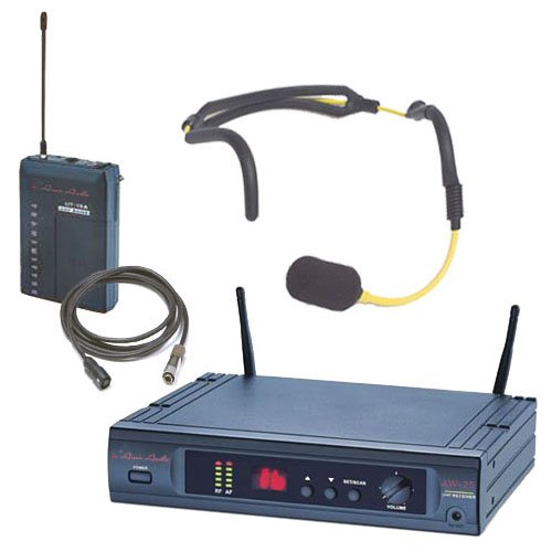 Special Projects SP-256-H20 Scan16 Aerobic Fitness UHF Wireless System with 16 Switchable Frequencies