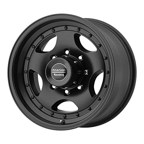 AMERICAN RACING AR23 SATIN BLACK W/CLEAR COAT AR23 15x10 5x114.30 SATIN BLACK W/CLEAR COAT (-44 mm) WHEEL RIM