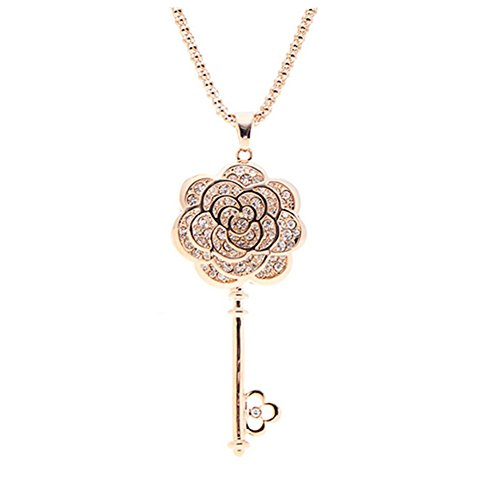 CherryGoddy Open Your Heart Jewelry Key European And American High-End Fashion (Discount Dior Makeup)