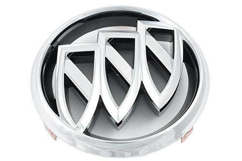 (OEM NEW Front Bumper Grille Emblem Badge Tri-Shield Chrome 12-16 Verano 20913792 )