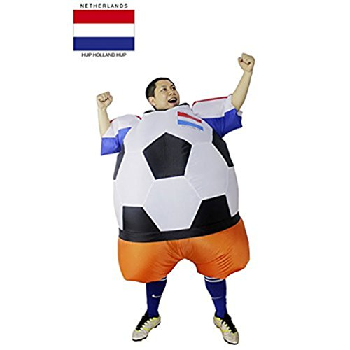 sport fitness Inflatable Costume Football Player Halloween Costume