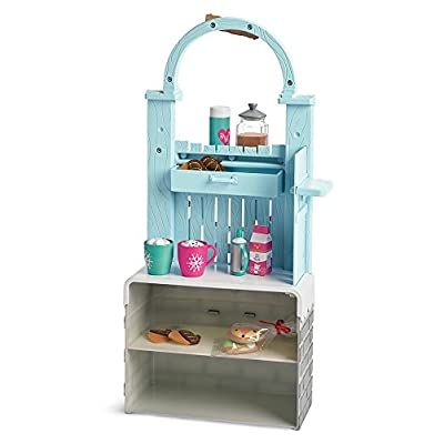 American Girl WellieWishers Cozy Up Cocoa Stand: Toys & Games