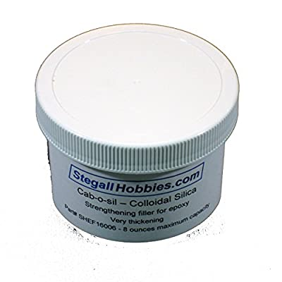 StegallHobbies.com Cab-o-SIL - Colloidal Silica Epoxy Filler (8 Ounce): Toys & Games