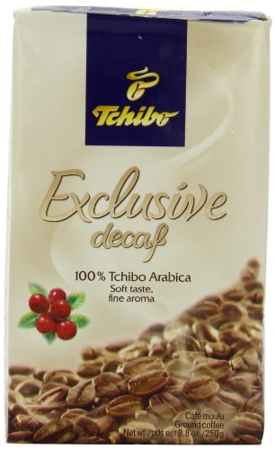 Tchibo Decaf Coffee, Exclusive, 8.8-Ounce