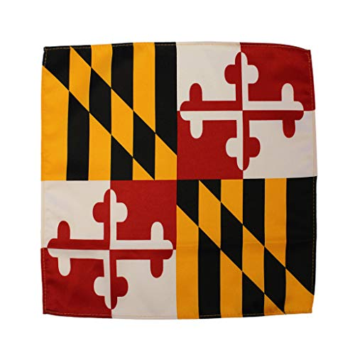 Route One Apparel | Maryland Flag Pocket Square