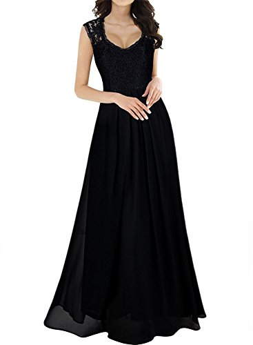 long black gala dresses - 9