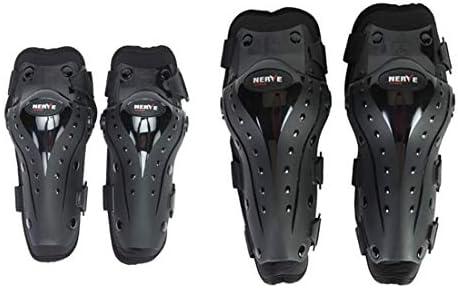 LilyAngel オートバイの肘と膝パッドモトクロスサイクリングプロテクターのガードアーマーは、サイクリングスケートスキーライディングに4本セット (サイズ : One set)