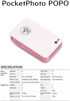 LG PD221 POPO foto Poket móvil Mini impresora Android ...
