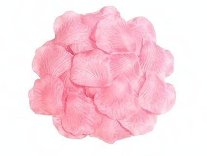 Amazon 1000pcs hot pink silk rose petals artificial flower 1000pcs hot pink silk rose petals artificial flower wedding party vase decor bridal shower favor centerpieces mightylinksfo